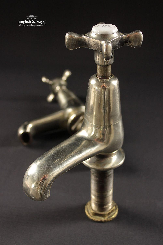 Restored Nickel Bath Taps | Bathrooms, Belfasts and Taps | Pinterest ...
