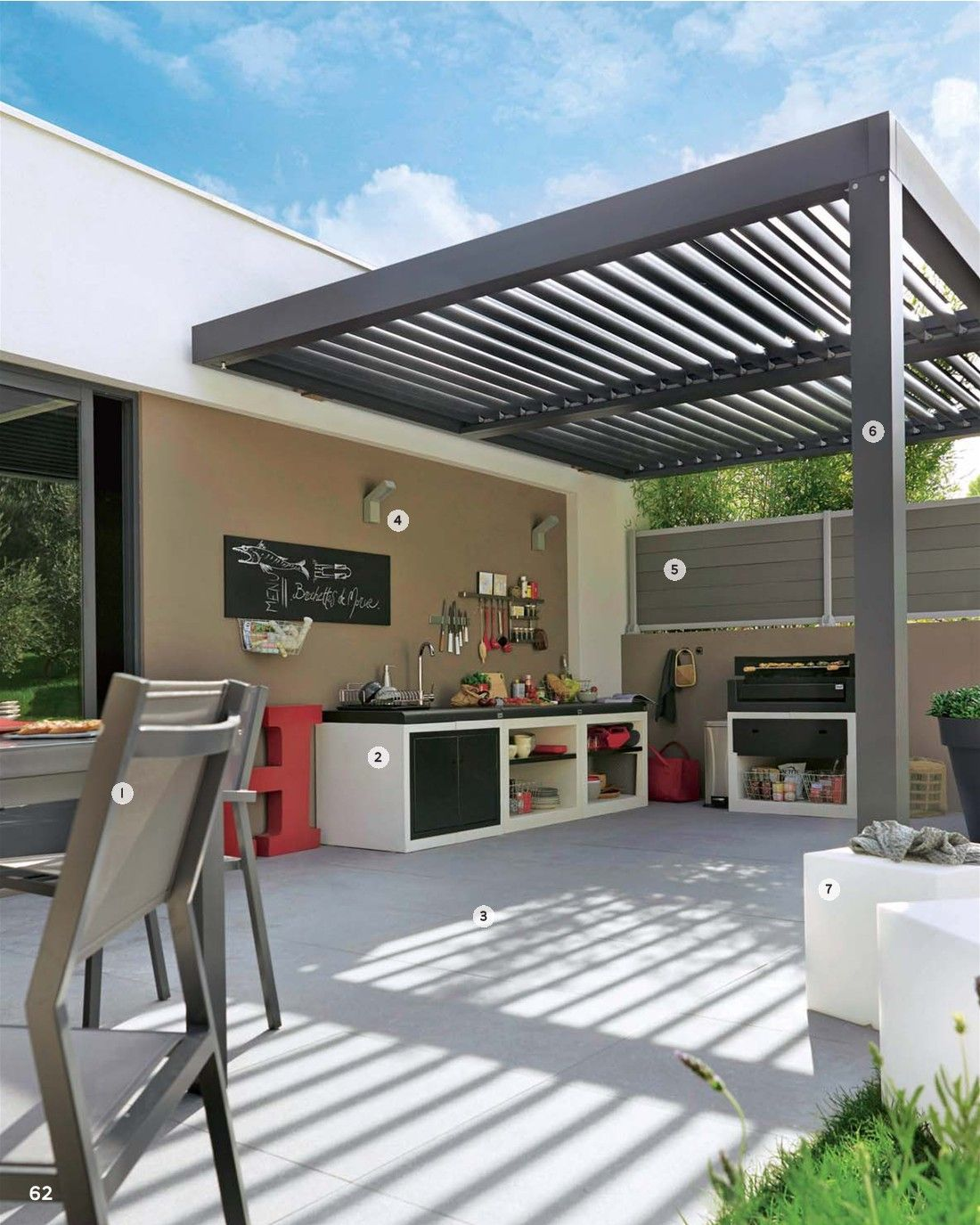 auvent pergola pinterest auvents extension et ext rieur. Black Bedroom Furniture Sets. Home Design Ideas
