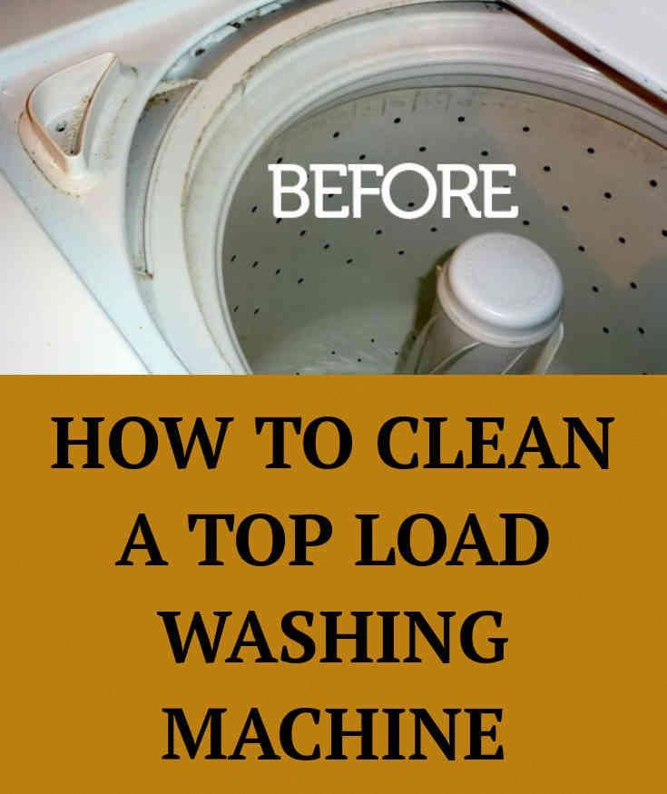 How to Clean a Smelly Washing Machine - (With images ...