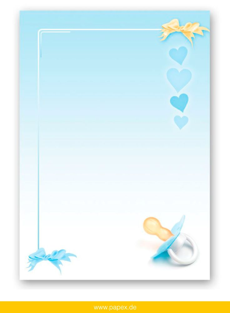 Design Paper For Writing Blue Stationery Letters And Envelopespapermedia Babyparty .