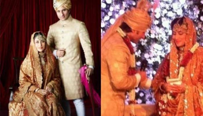 बॉलीवुड एक्ट्रेस करीना कपूर खान (Kareena Kapoor Khan) और सैफ अली खान (Saif Ali Khan) इंडस्ट्री के पॉपुलर कपल्स में से एक हैं। आज यानी 16 अक्टूबर 2020 को ये कपल अपनी आठवीं मैरिज एनिवर्सरी सेलिब्रेट कर रहा है। इस खास मौके पर सैफ और करीना को देश दुनिया से बधाई संदेश मिल रहे हैं। इसी क्रम में इस खास मौके को और भी खास बनाने के लिए खुद एक्ट्रेस ने सैफ अली खान को अपनी एनिवर्सरी की बधाई दी है। तो आइए आपको बताते हैं इसके बारे में।  आपको करीना के पोस्ट की तरफ ले चलें, उसके पहले हम सोच रहे हैं कि जिनको इस