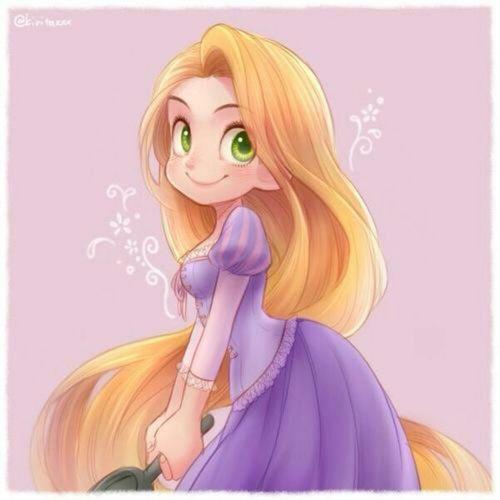 Li'l Rapunzel | We Heart It