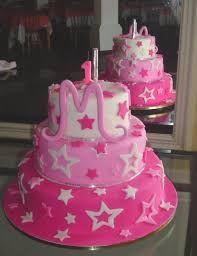 Resultado de imagem para bolos de aniversario de meninas marrom e rosa