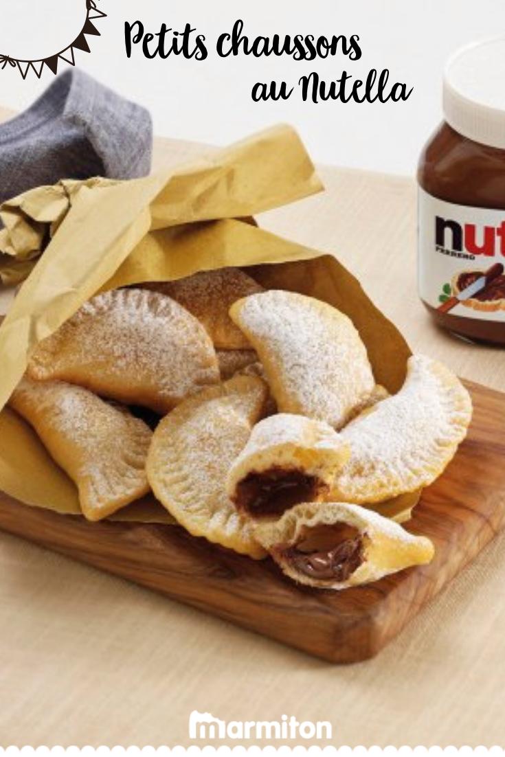 Idée Gouter Rapide Chaussons dorés au Nutella® | Recette | Recette gouter facile