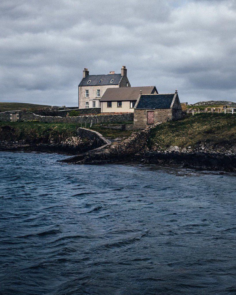 "pagewoman: "" Bressay, Shetland Isles, Scotland by Alex Mazuro """