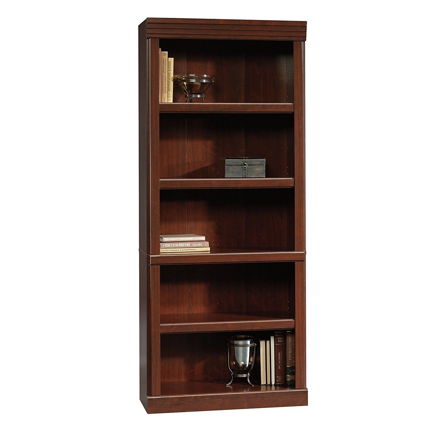 hutch products adjustable bookcases bookcase shelf drawers item heartland and with number hammary