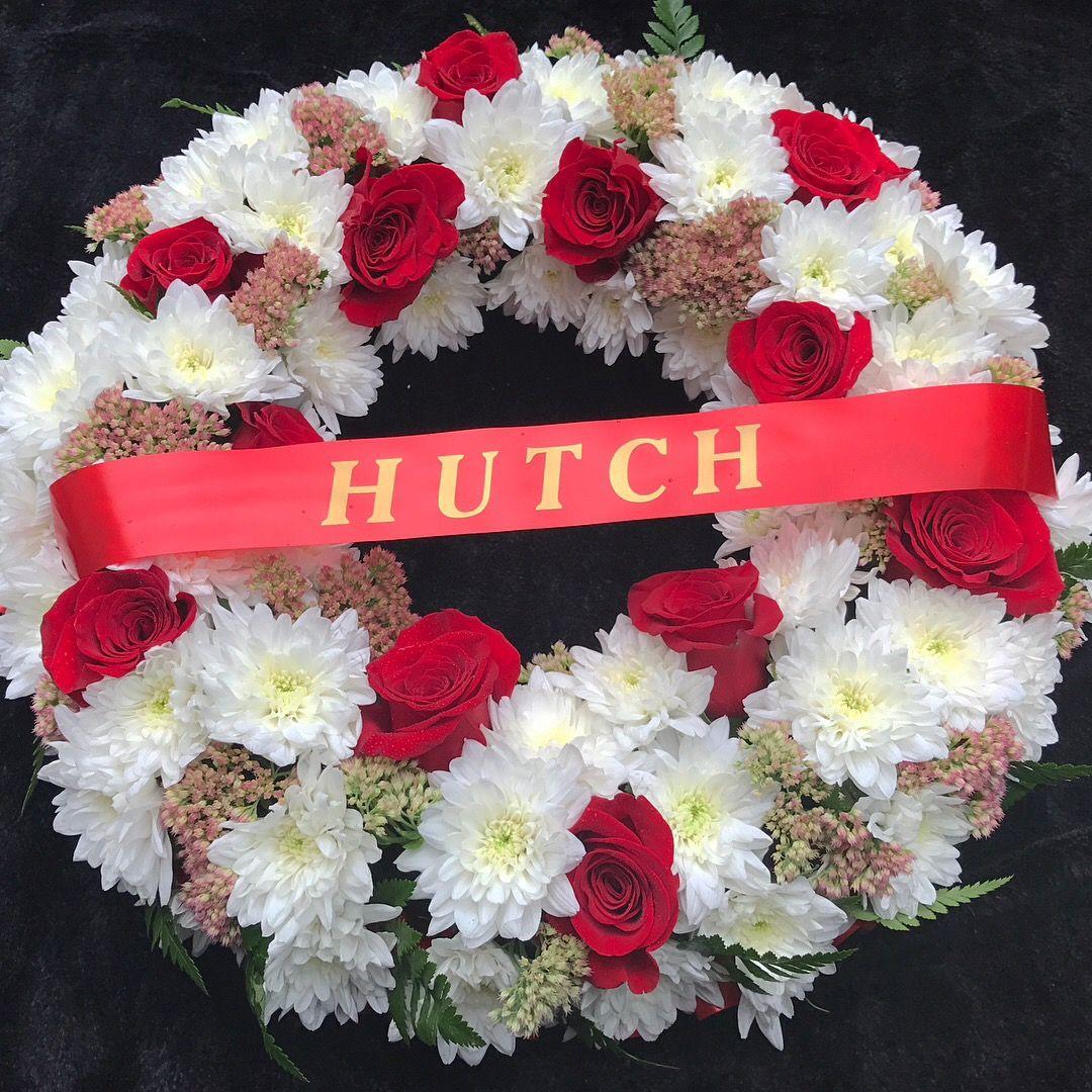 Funeral Wreath By Jaks Flowering Fancies Fife Funeral Flowers