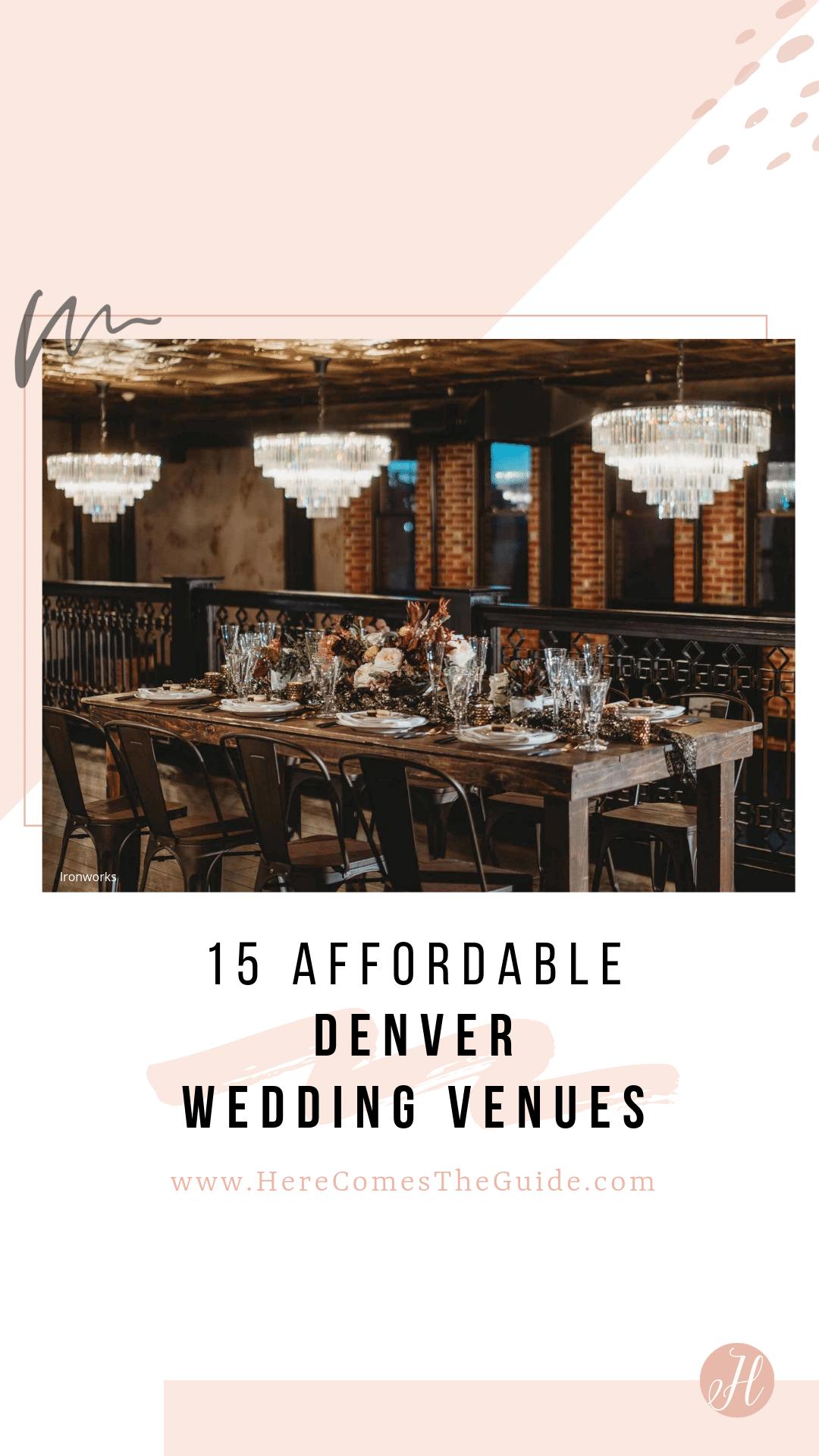 19 Affordable Denver Wedding Venues See Prices Denver Wedding Venue Colorado Wedding Venues Denver Wedding