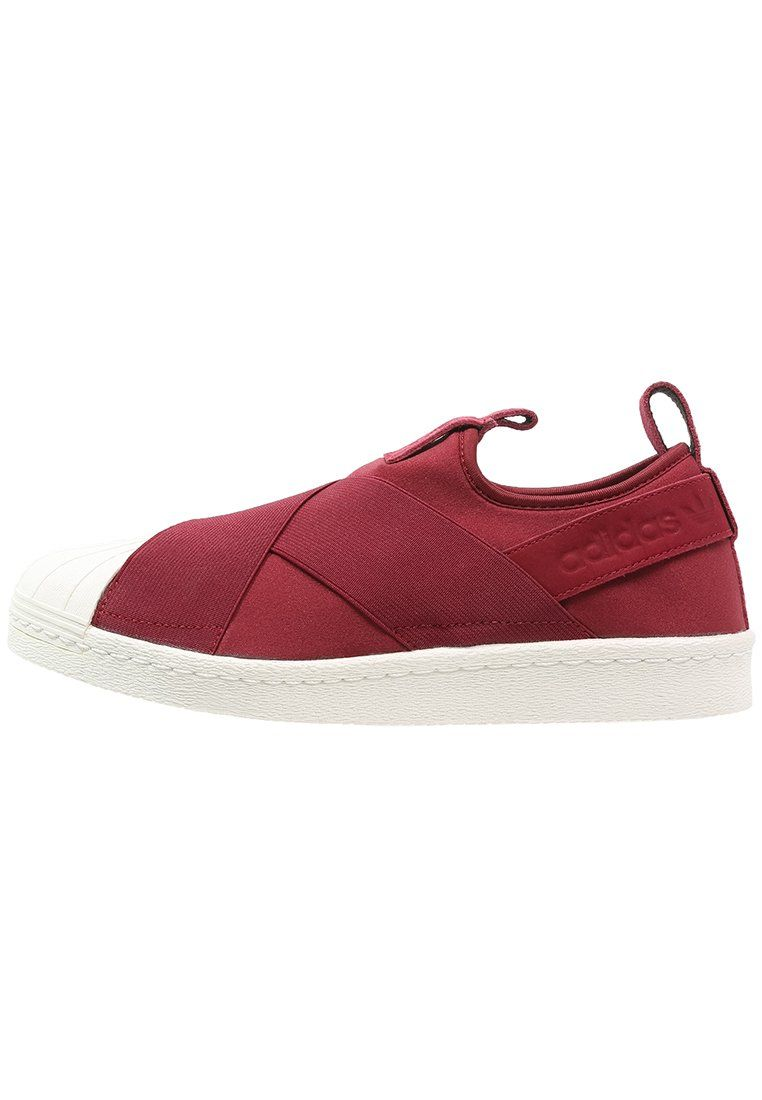 ... baskets adidas originals superstar mocassins collegiate burgundy legend  ink rouge foncé 85