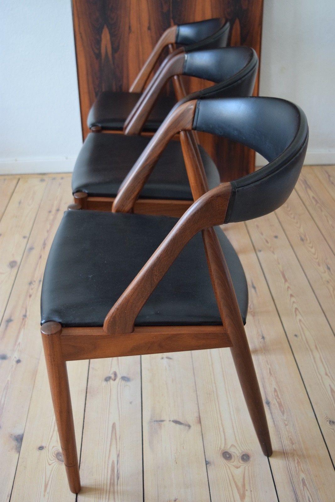 Kai Kristiansen 31 MidCentury Teak Dining Chairs. eBay