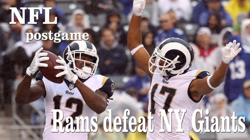 Greg zuerlein piles up points and helps rams get some