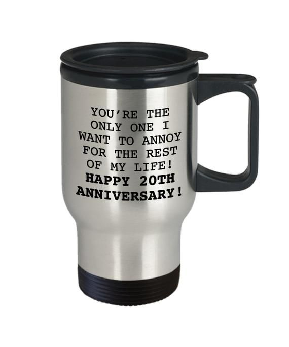 20TH ANNIVERSARY GIFT Mug Gifts For Husband Wedding By