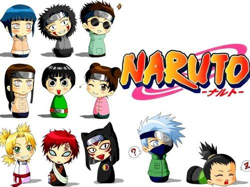 Naruto Characters As Kids With Images Naruto Characters