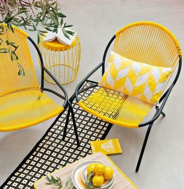 fauteuil curry - monoprix | Homing | Decoration terrasse ...