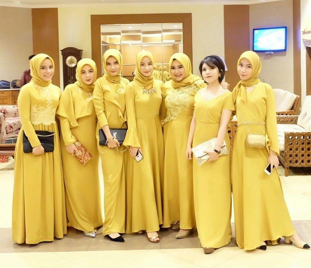 Gamis cantik  Model pakaian hijab, Model pakaian, Wanita