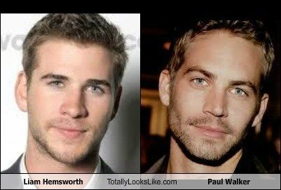 He Might Be A Good Stand In Liam Hemsworth Hemsworth Paul Walker