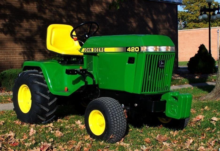John Deere 420 Rightfront Love The 400 John Deere Equipment Pinterest Tractor