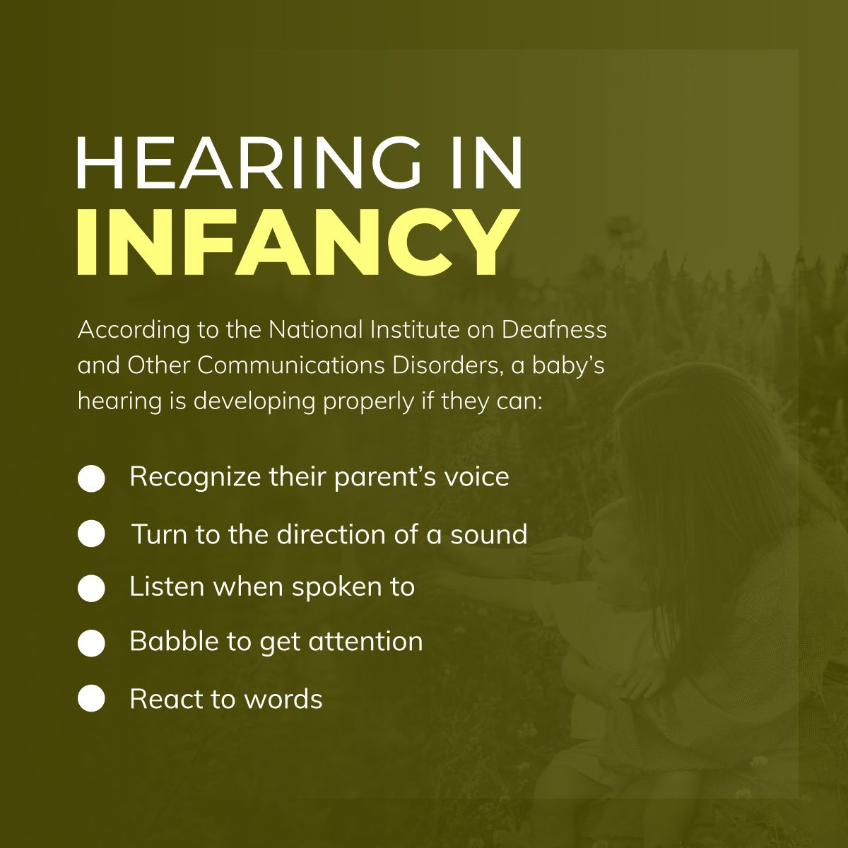 Hearing in Infancy SolidSourceHealthcareResourcesLLC