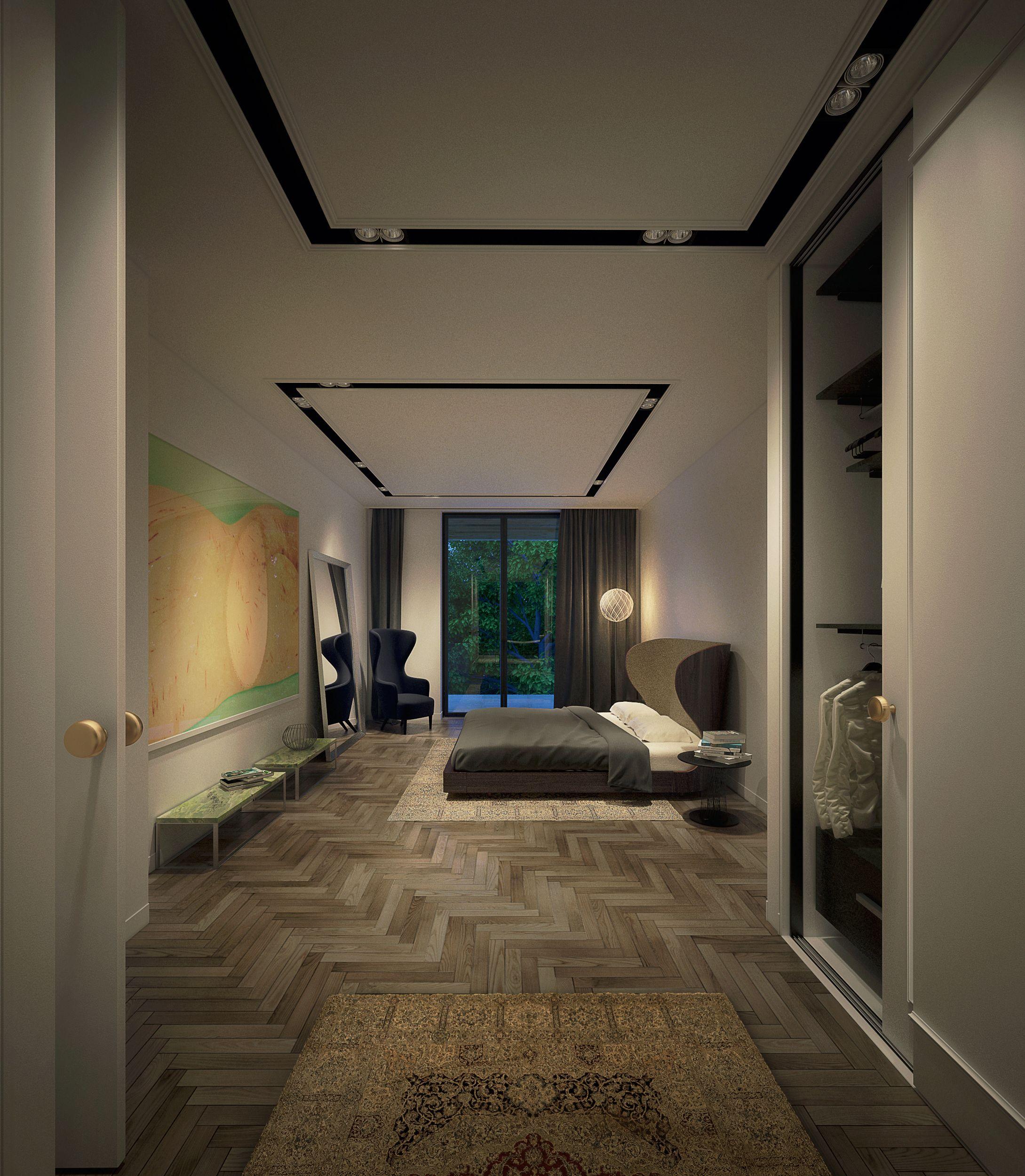 DOOI STUDIO Appartement 3 , Master Bedroom The Luxury Rahmaninov Residence,  Bucharest , Romania