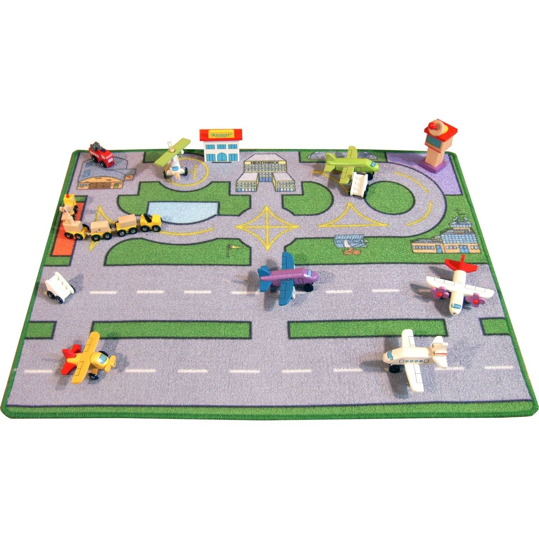 Large Heathwick Airport Playmat (100x75cm) an air