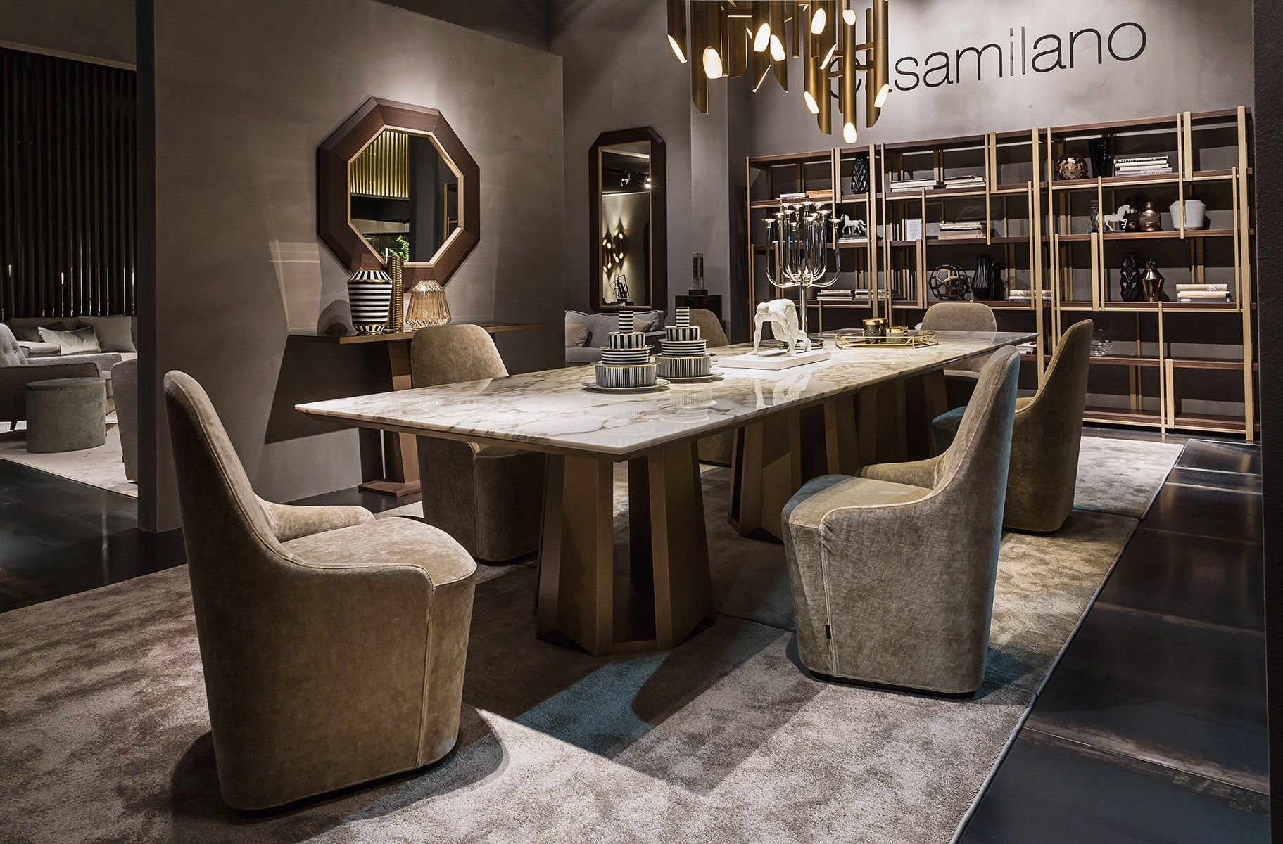 KANDINSKY table by Massimiliano Raggi for Casamilano home collection 2016. Available in different sizes and with different tops (wood / marble). #casamilano #kandinsky #massimilianoraggi #newcolelction #homecollection