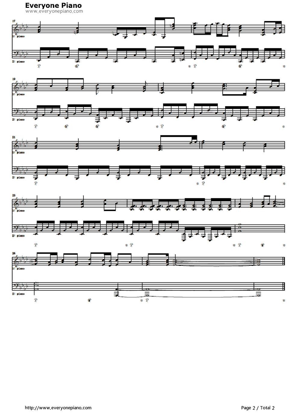 Decretumsayaka Theme Puella Magi Madoka Magica Piano Sheet