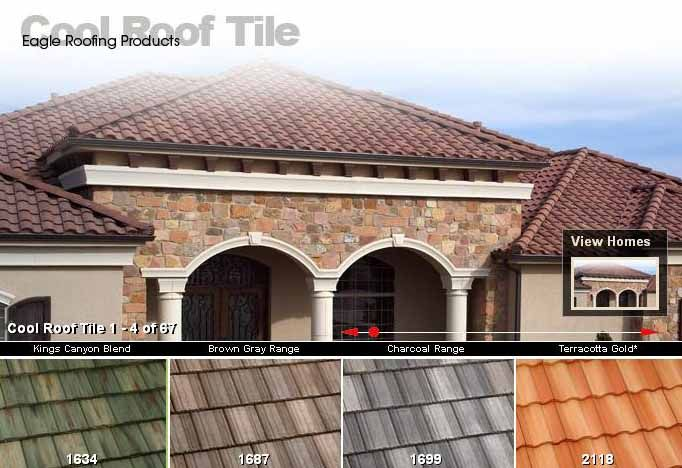 Usa Owned Usa Made Concrete Roof Tiles Eagle Roofing Cool Roof Roofing Roofing Options