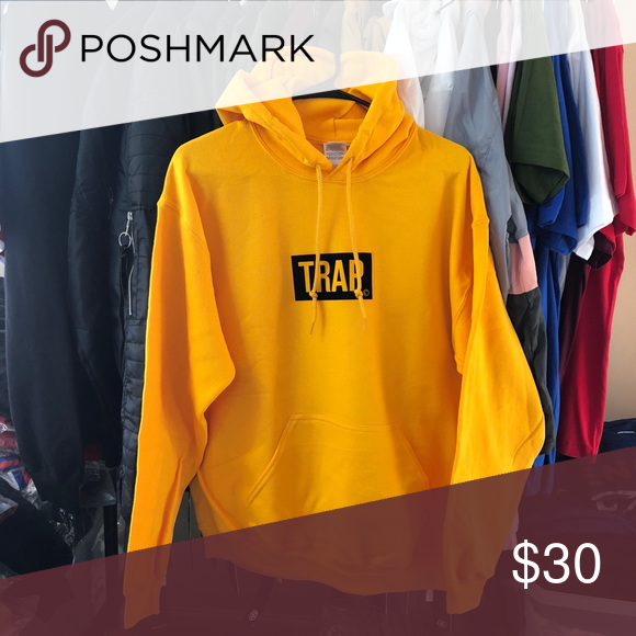 a792eff99075 Trap Bogo Hoodie - Mustard SuperlineATL Exclusive print 50% Cotton 50%  Polyester True to size Size up for a looser fit Finished in USA Sweaters
