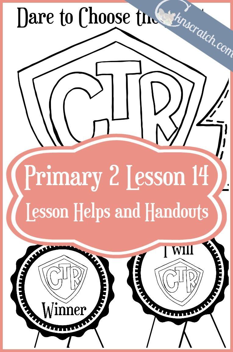 Lesson 14: Dare to Choose the Right