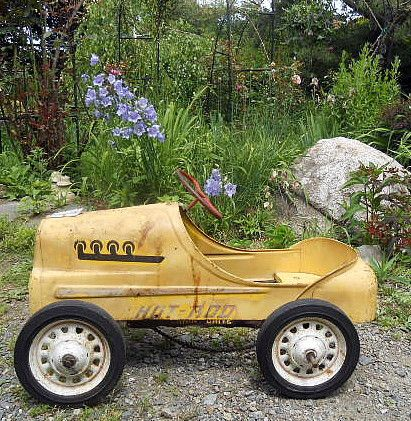 ORIGINAL 1950s Childs Garton Hot Rod Racer Pedal Car #5 in ...