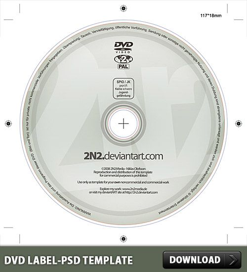 Dvd Cover Template Psd Free Download | Nice Dvd Label Free Psd Template Download Dvd Label Free Psd