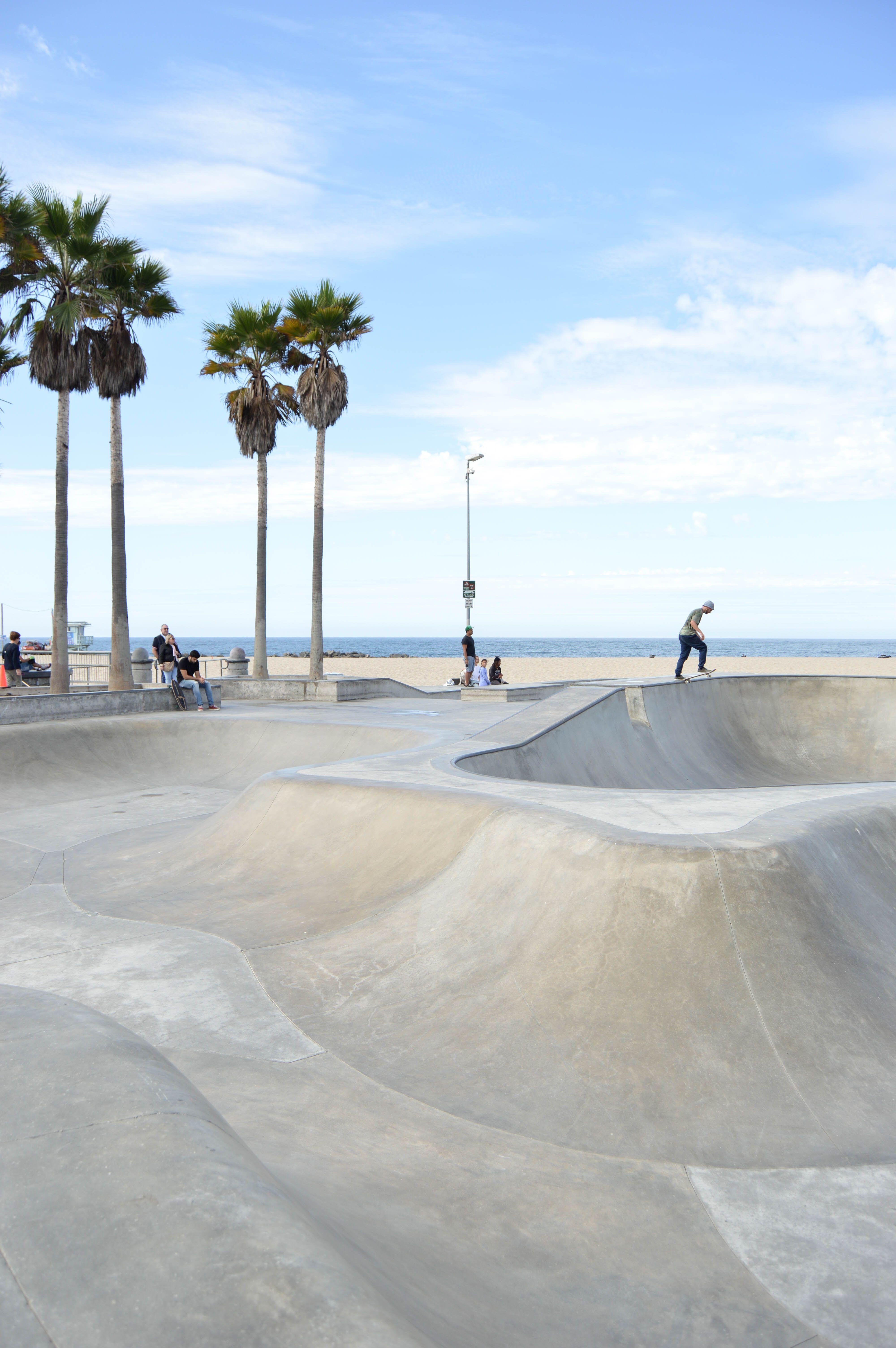 Visiting the Piers of Los Angeles Venice beach los