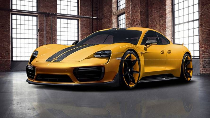 653b25eaeff0 Porsche Taycan Exclusive Rendering Dreams Up A More Luxurious EV ...