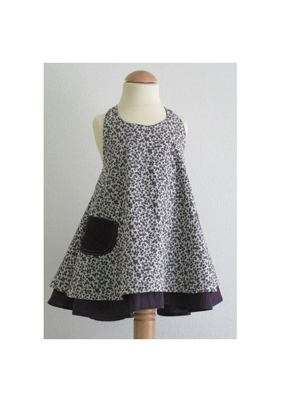 Baby girl dress easy sewing pattern PDF and tutorial 1y-7y, Grace ...