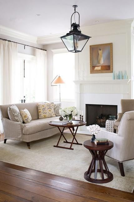 A Living Room 39 S Neutral Palette Comes To Life With Subtle Patterns And Soft Accent Colors
