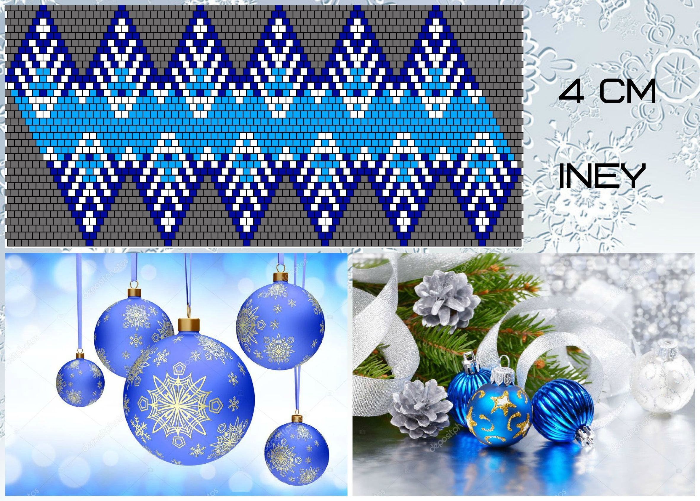 Shemy Shariki Vk In 2020 Beaded Christmas Ornaments Christmas Bead Christmas Ornaments