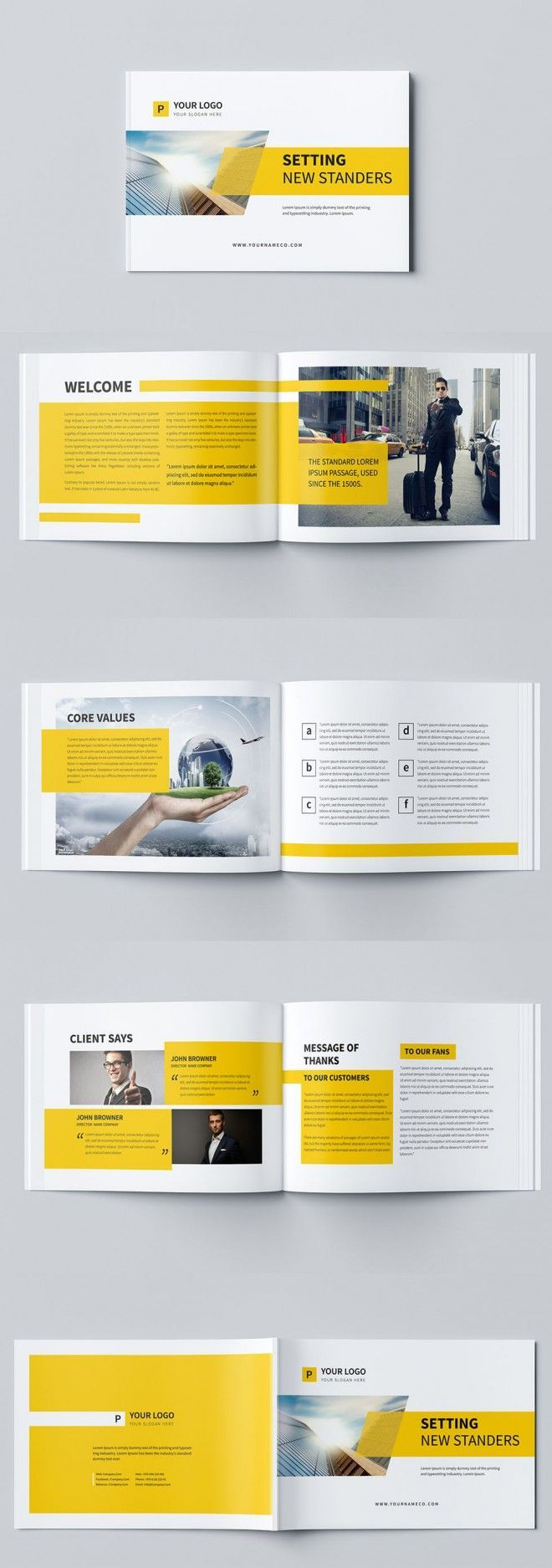 Design A Professional Business Brochure And Flyer  Business