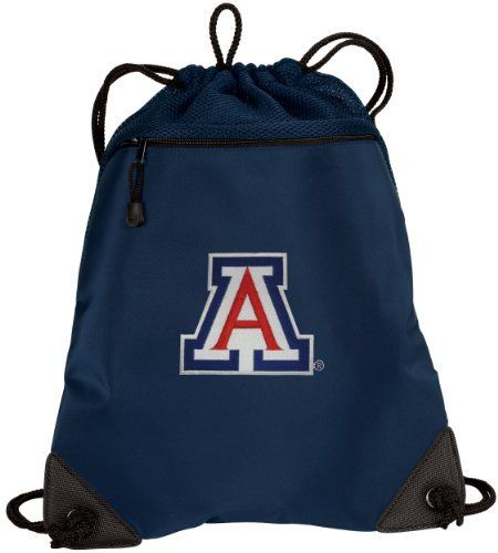 University of Arizona Drawstring Bag Backpack Arizona Wildcats College Logo  SOPHISTICATED MICROFIBER   MESH- For 72efd48c2574c