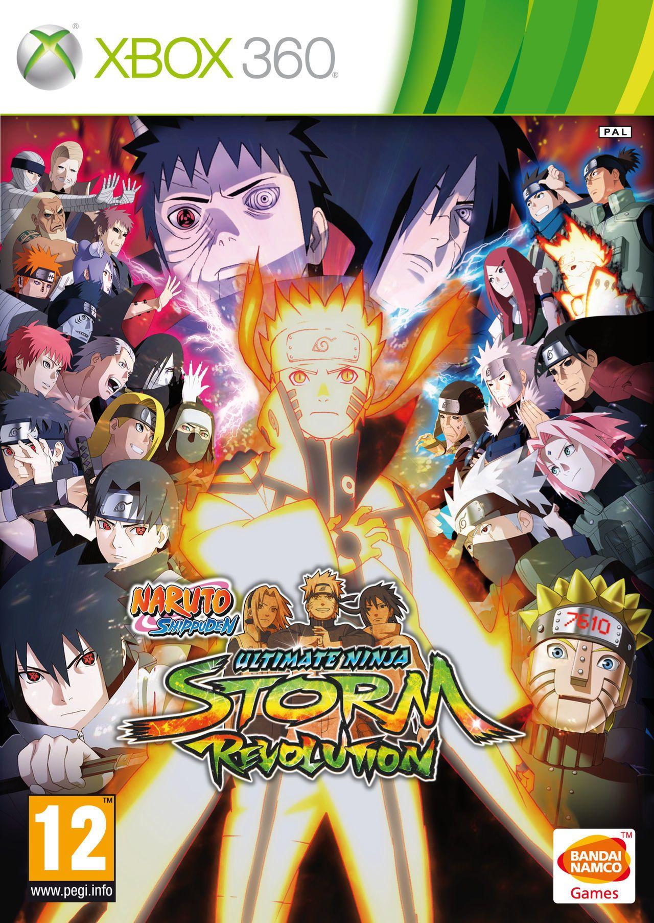 naruto ultimate ninja storm revolution xbox 360 Naruto