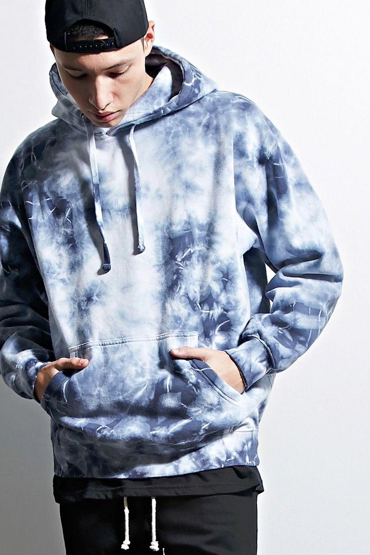 A Fleece Knit Hoodie By Eptm Trade Featuring An Allover Tie Dye Design A Drawstring Neckline A Kangaroo Pocket Tie Dye Outfits Tie Dye Fashion Tie Dye Men [ 1125 x 750 Pixel ]