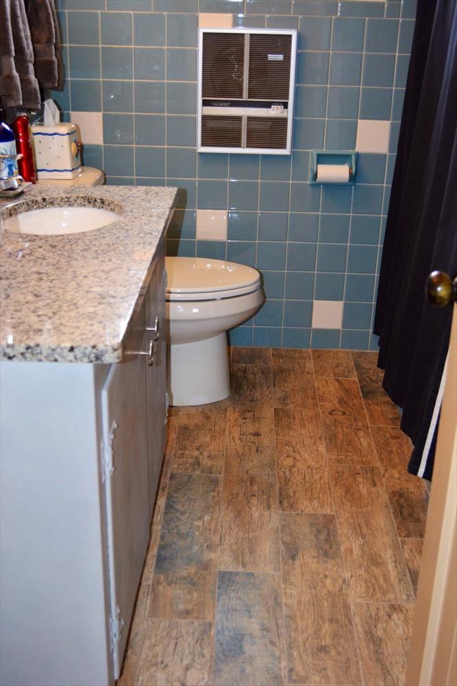 Porcelain Tile - Redwood Series Natural bathroom, Porcelain tile