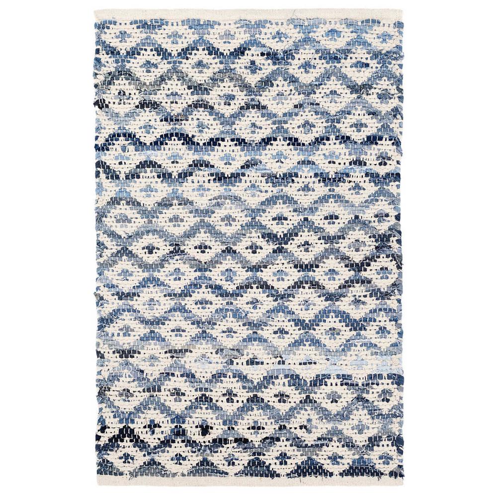 Denim Rag Diamond Ivory Woven Cotton Rug Dash Albert In 2020 Dash And Albert Rugs Dash And Albert Cotton Rug