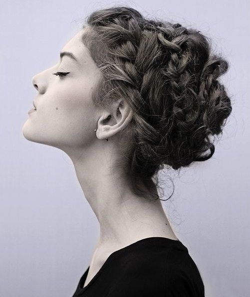 Cute Prom Updo Hairstyles 2015 Ideas Gorgeous Bohemian Style Braided