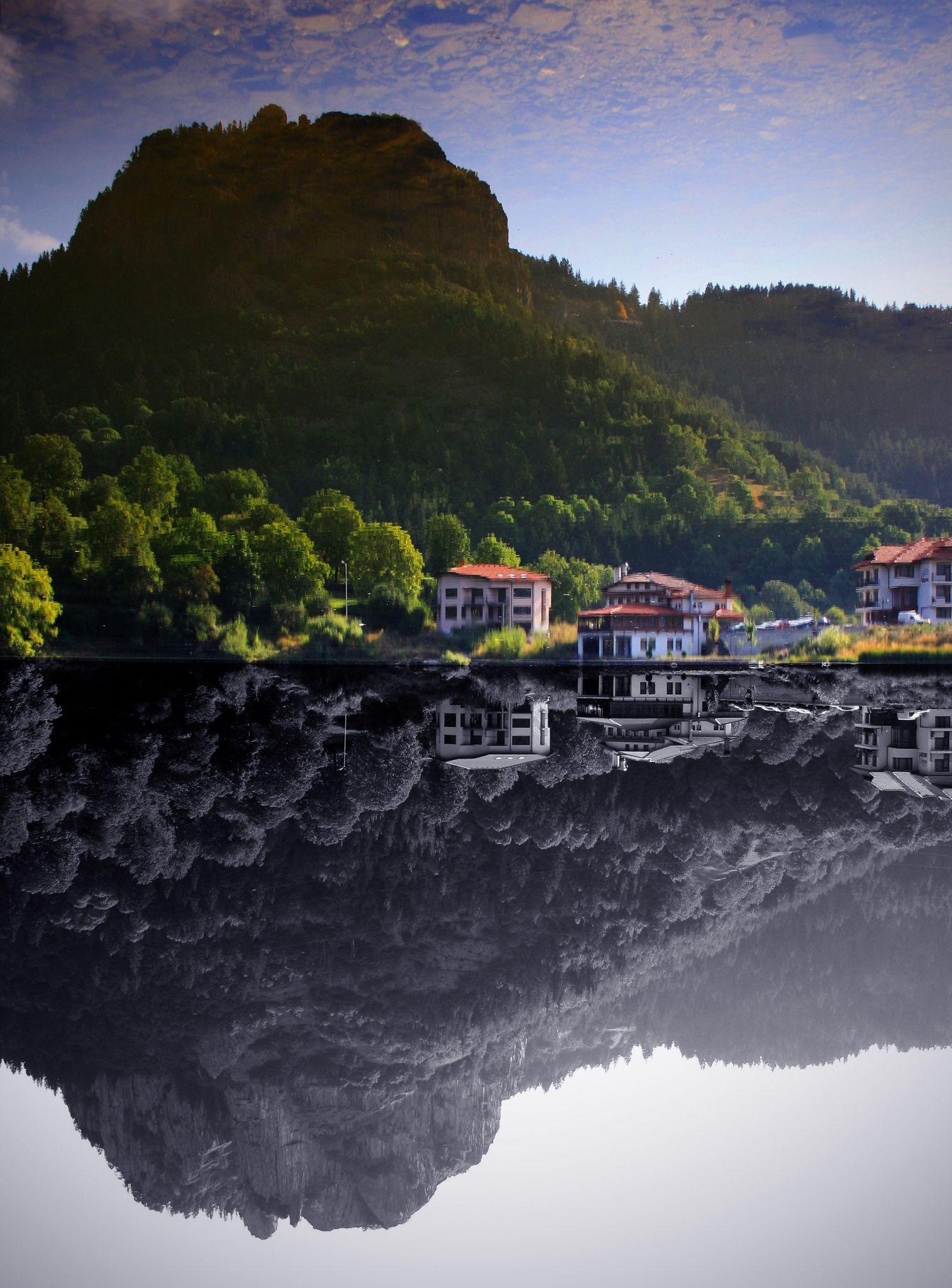 Reflected world - Nature in Smolyan, Bulgaria.