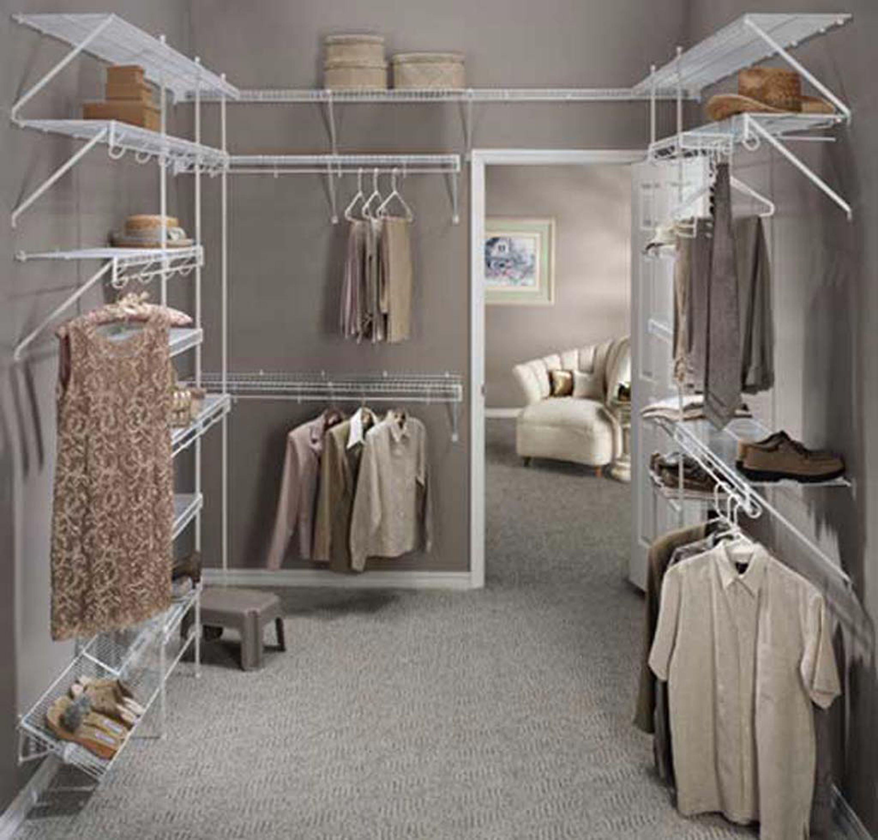 32 Elegant Walk In Closet Designs For Your Inspirations Cool