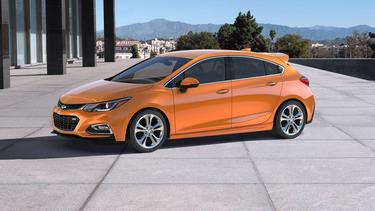 2017 chevrolet cruze dons a hatchback for detroit auto show chevy read more