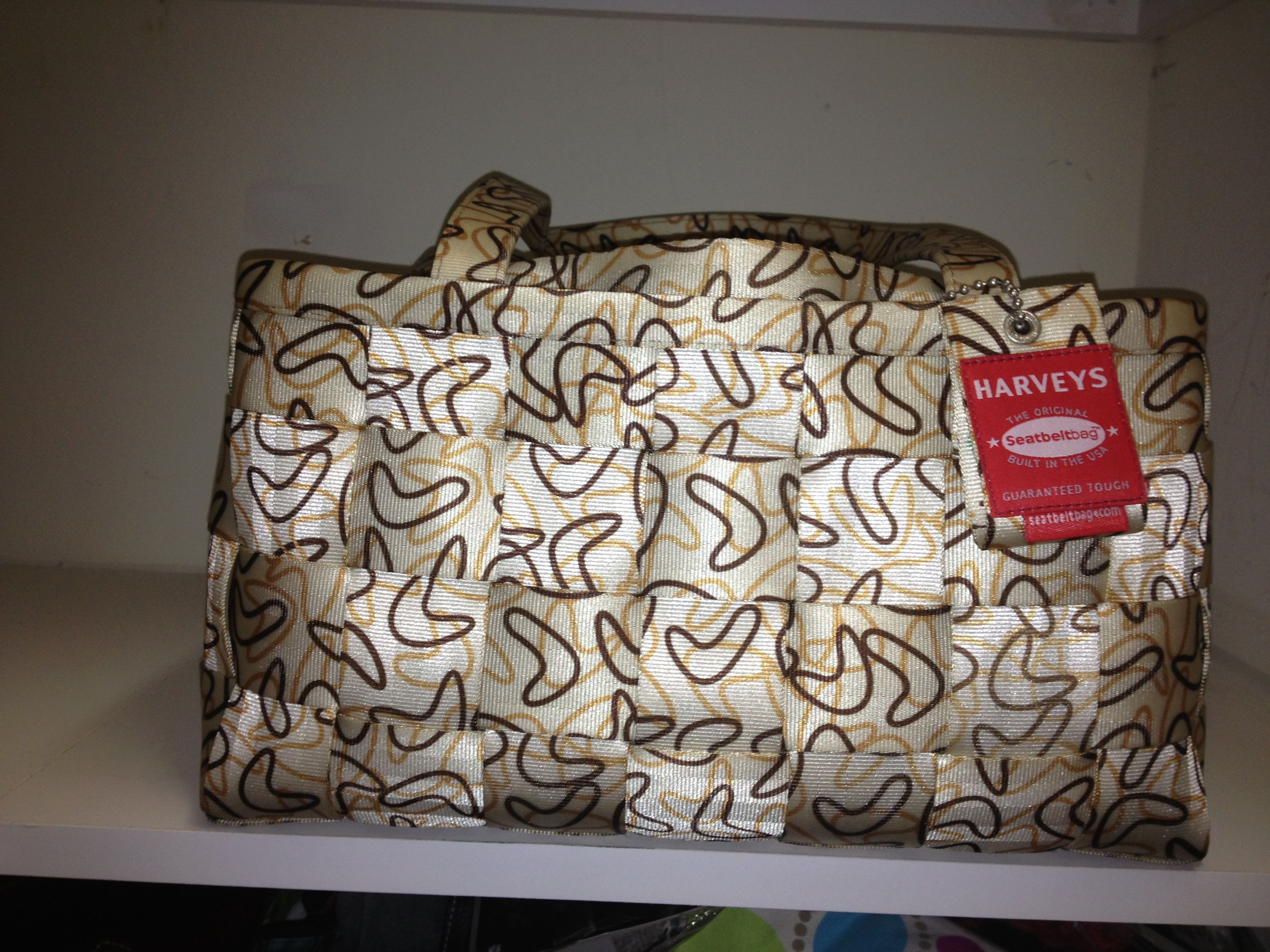 Large Satchel in Boomerang pattern I think..