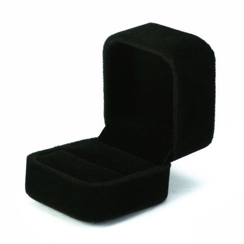 14++ Black velvet jewelry gift boxes information