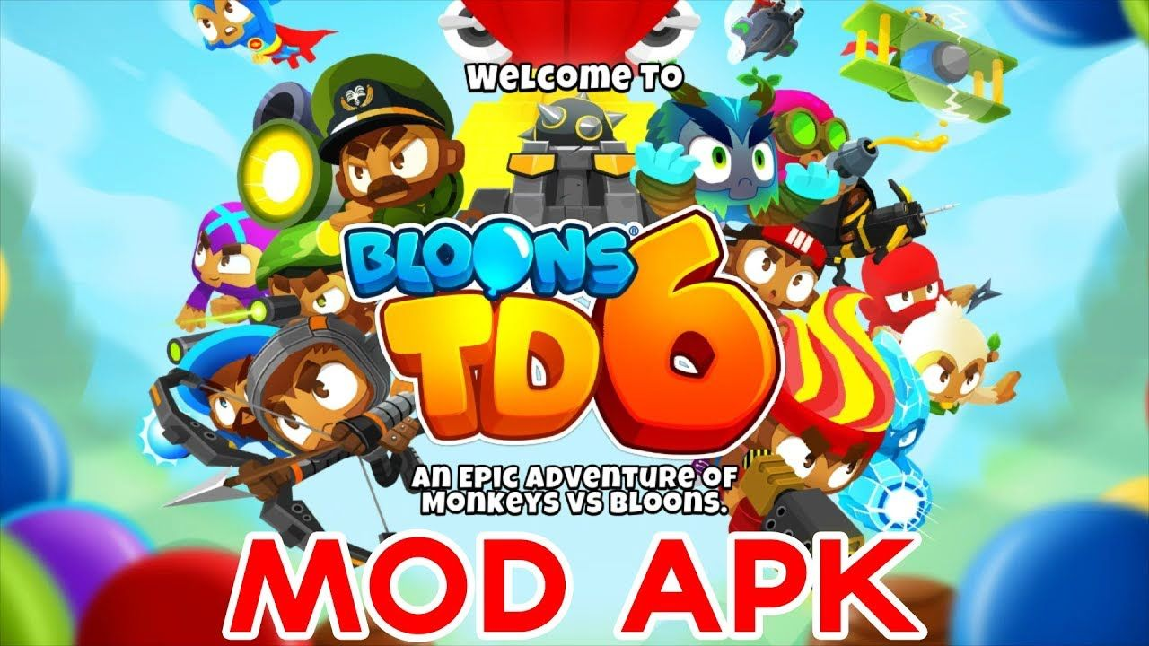Bloons TD 6 Mod APK 8 1 - Unlimited Money | Android Game