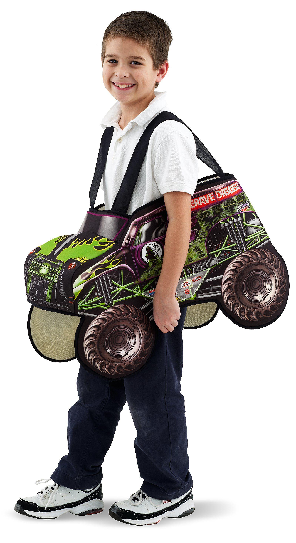 Monster Jam - Grave Digger Child Costume   Digger costume ...